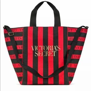 Victoria's Secret Perfect Red Weekender Tote